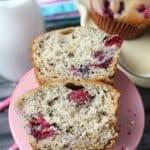 Cranberry Banana Muffins Recipe