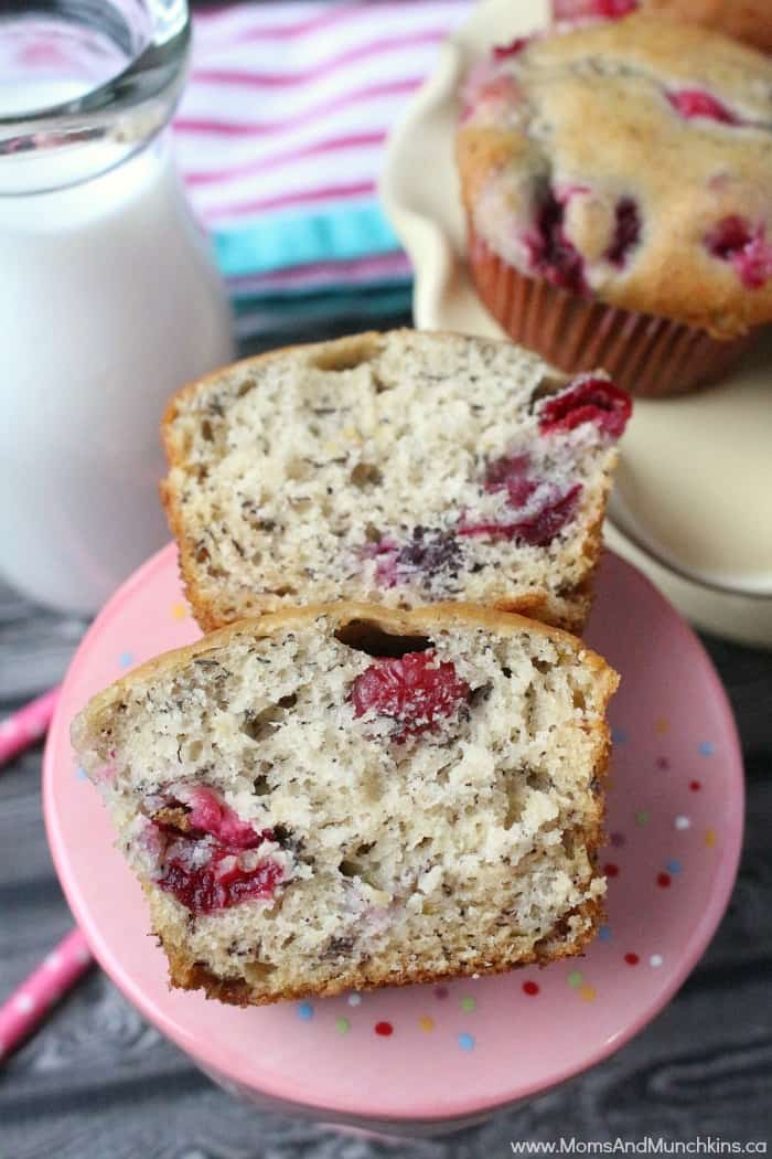 Cranberry Banana Muffins Recipe