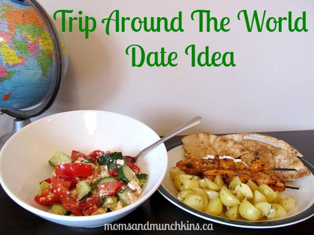 Creative Date Idea - Trip Around the World
