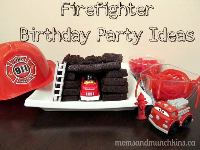 Firefighter Birthday Party Moms Munchkins – Fireman Party Invitations
