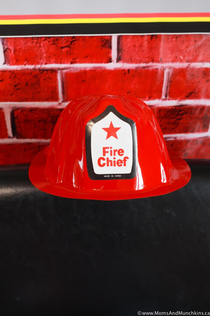 Fireman Party Hat