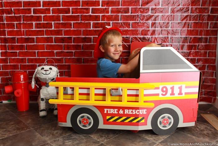 Fireman Photo Booth