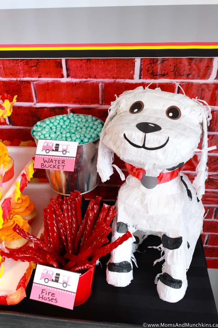 Fireman Party Decorating Ideas