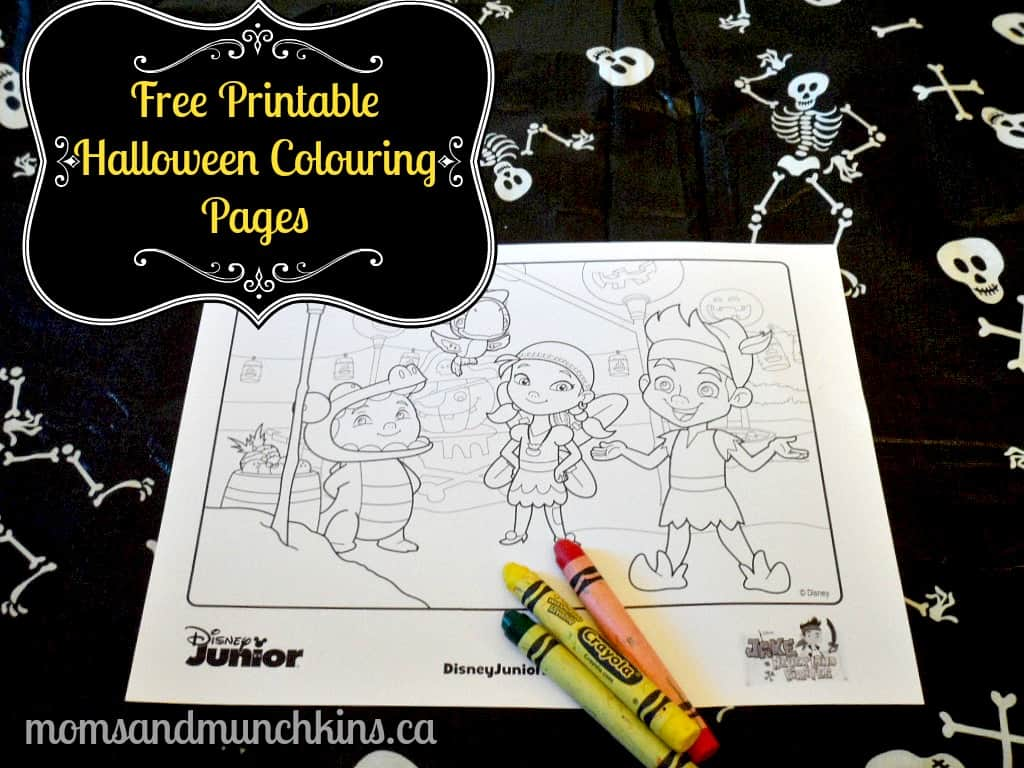 Free Printable Halloween Colouring Pages