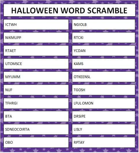photo about Free Printable Halloween Games for Adults called absolutely free printable video games Archives - Web site 14 of 29 - Mothers Munchkins