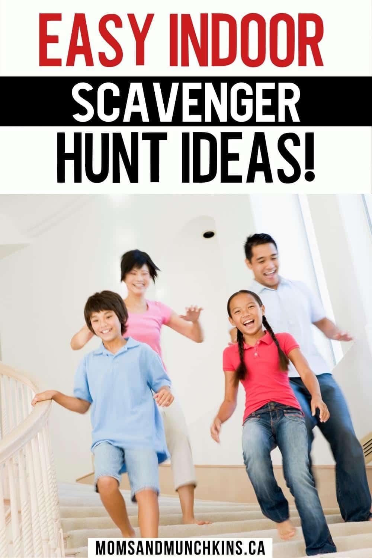 Easy Indoor Scavenger Hunt Ideas