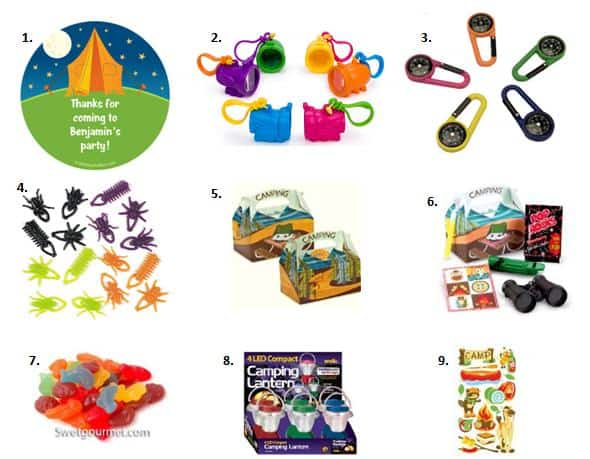 Camping Party Ideas For Birthdays Moms Amp Munchkins