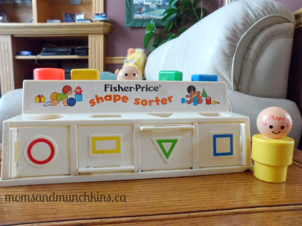 Fisher-Price Retro Shape Sorter