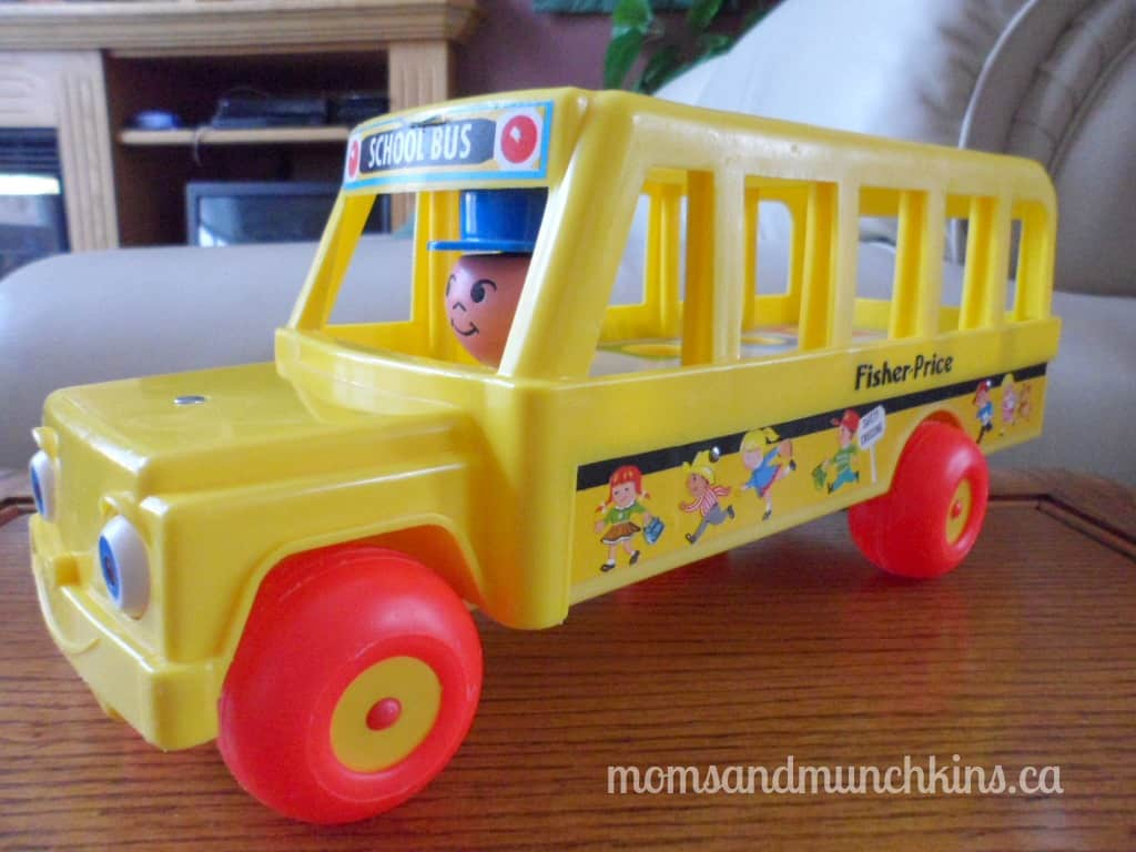 Fisher-Price Retro School Bus
