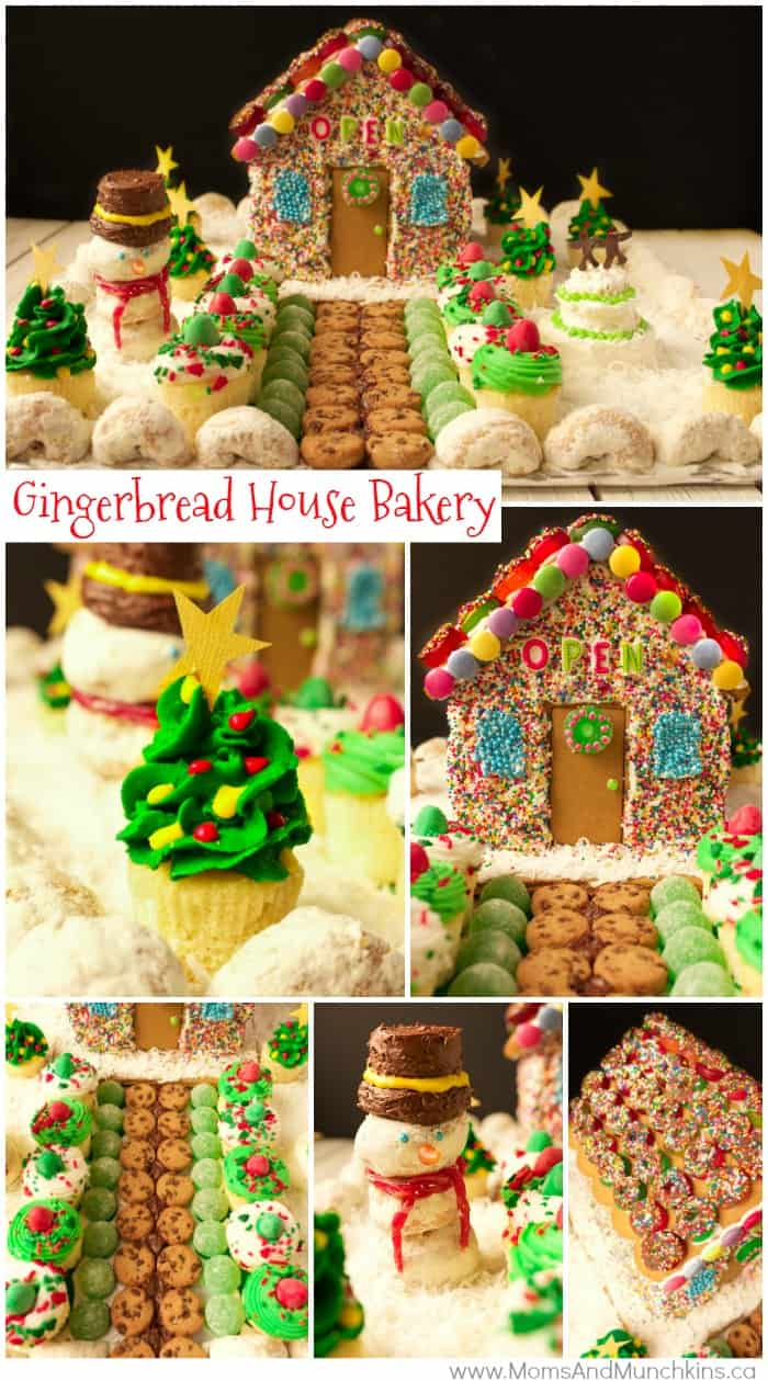 Gingerbread House Ideas - Gingerbread Bakery