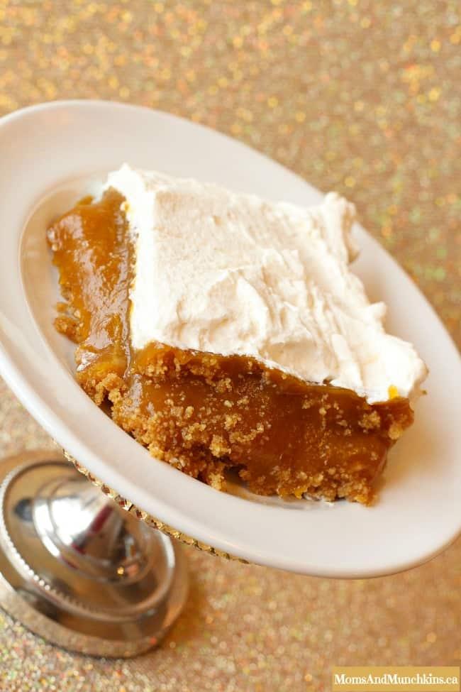 Pumpkin Dessert with Marshmallows