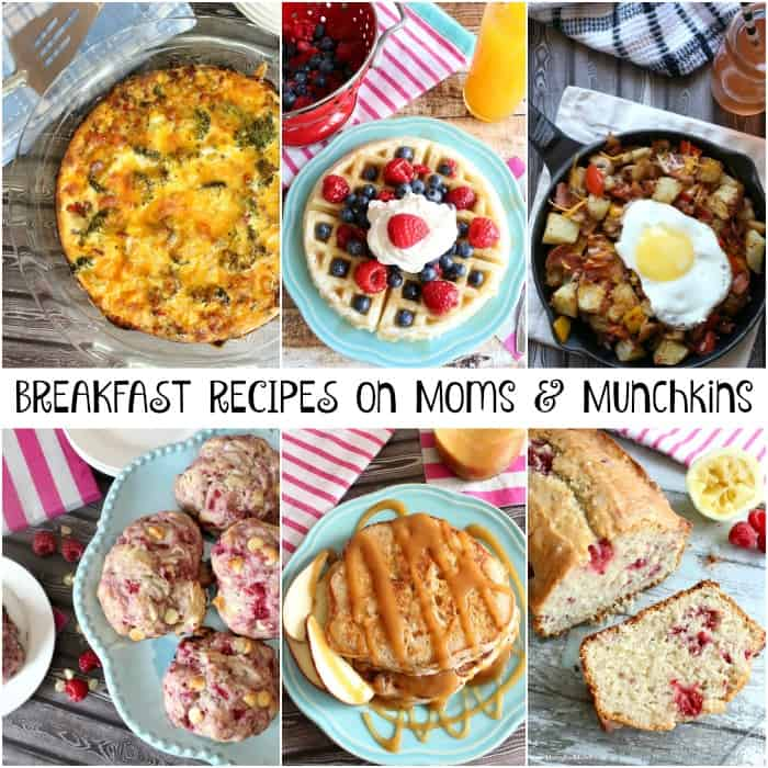 Breakfast Recipes on Moms & Munchkins