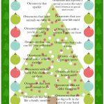 Christmas Tree Scavenger Hunt Game - Free Printable