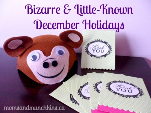 Bizarre December Holidays