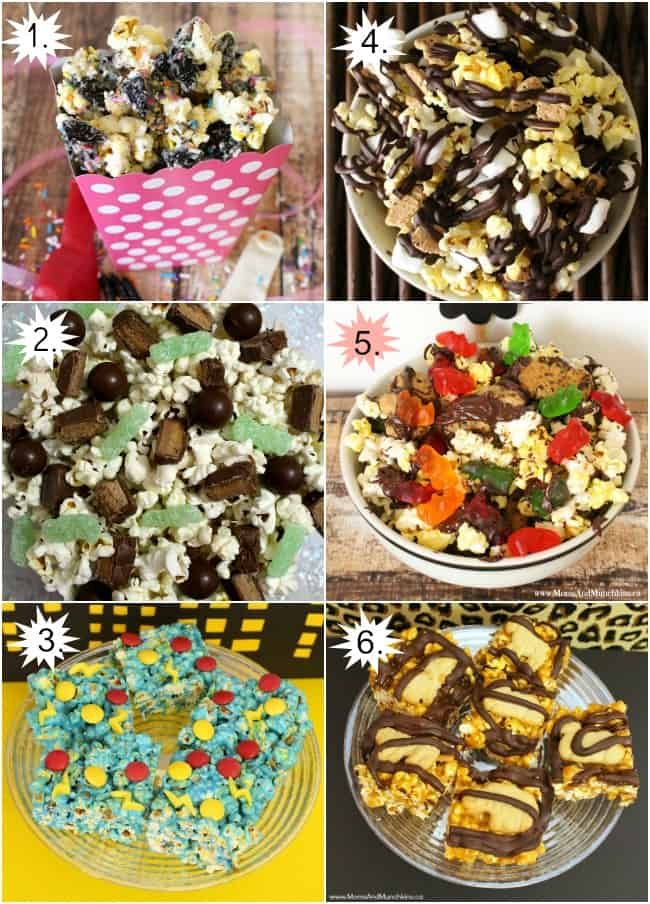 Sweet Popcorn Recipes