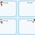 Holiday Scavenger Hunt Cards