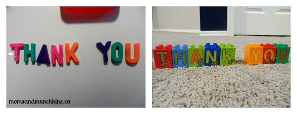 Creative Thank You Note