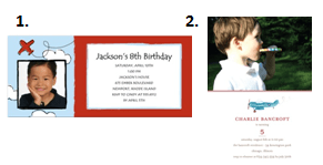 Aviation Birthday Party - Invitations