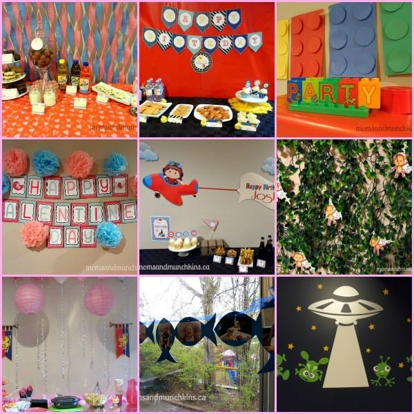 Simple Backdrops for Parties