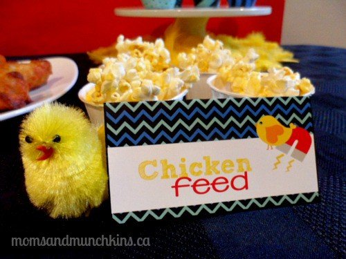 Chick Magnet Party Snacks