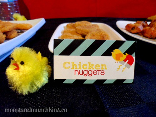 Chick Magnet Party Food