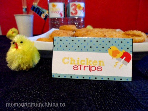 Chick Magnet Party Food Ideas