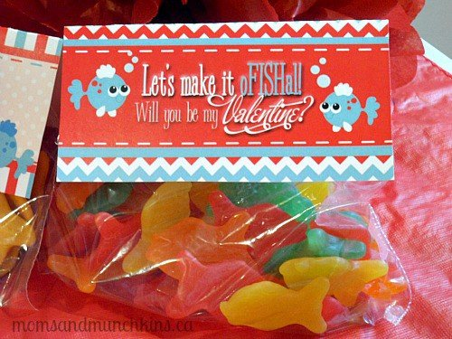 Valentine's Day Party for Kids - Favor Bag