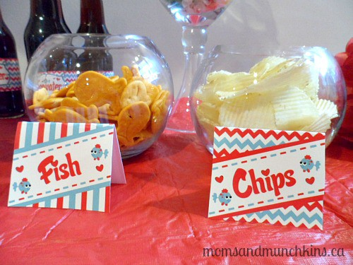 Valentine's Day Party for Kids - Snacks