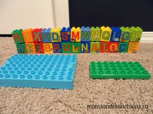 LEGO DUPLO Party Spelling