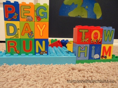 LEGO DUPLO Party Spelling Game