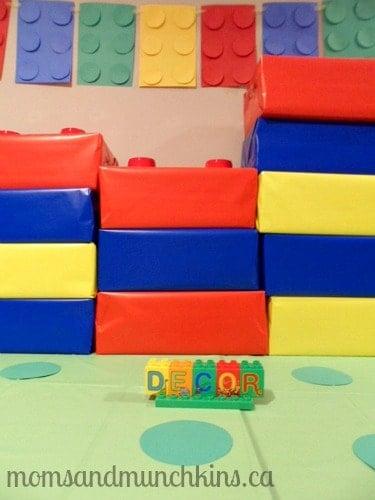 LEGO DUPLO Party Decor