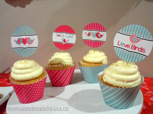 Valentine's Day Party Ideas - Cupcakes