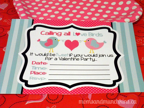 Valentine's Day Party Ideas - Invitations