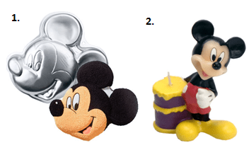 Mickey Mouse Party - Dessert