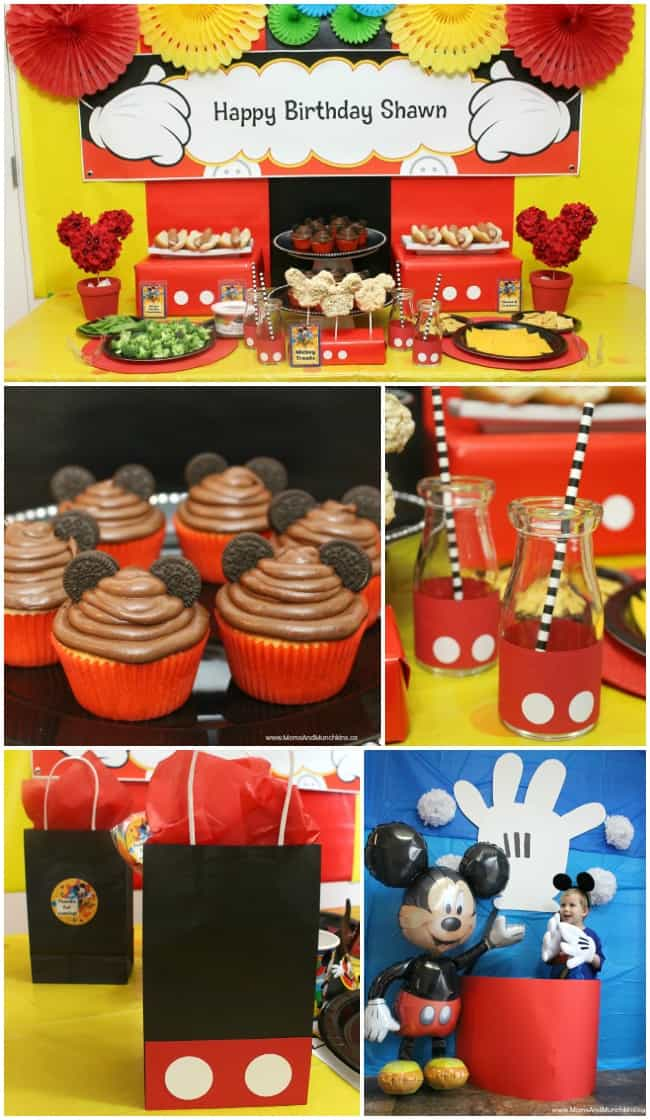 Mickey Mouse Party Ideas For Kids Moms Amp Munchkins