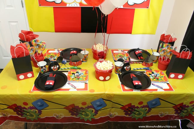 mickey mouse party ideas for kids moms munchkins