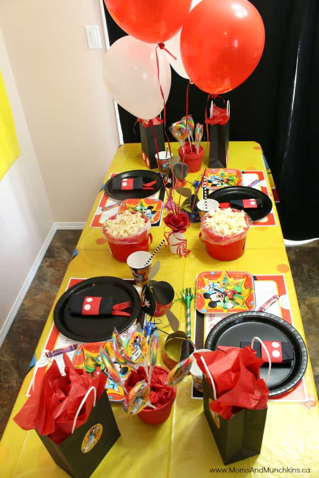 mickey mouse party ideas for kids