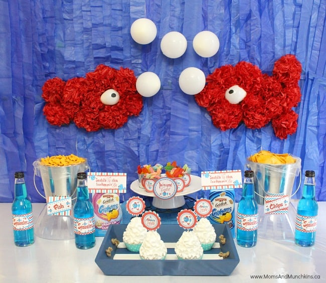o-FISH-al Valentine's Party For Kids
