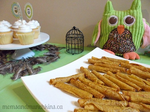 Owl Birthday Party Food Ideas