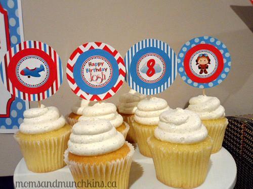 Aviation Birthday Dessert