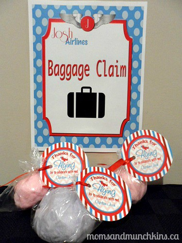 Aviation Birthday Party Ideas Moms Munchkins