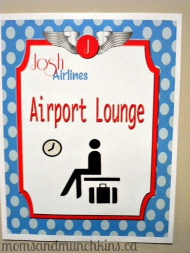 Aviation Birthday - Lounge