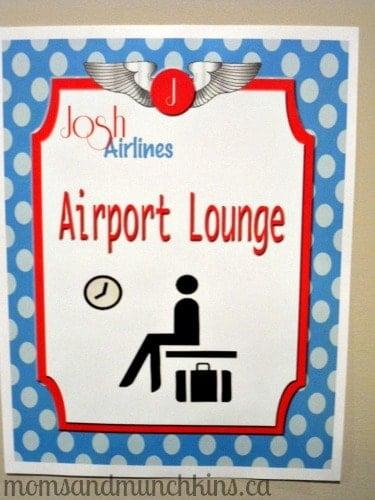 Aviation Birthday - Lounge