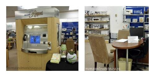 Sears Baby Registry - Kiosk