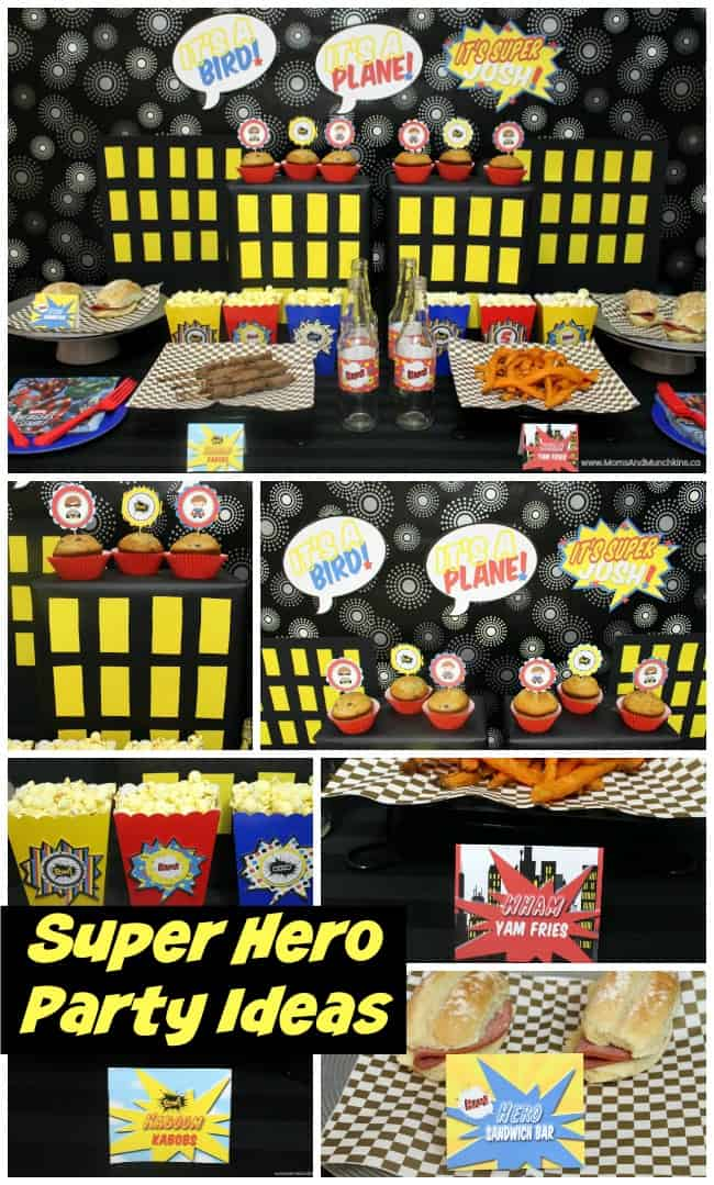 Superhero Party Ideas For Kids