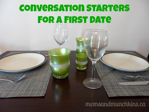 how to start conversation on a first date