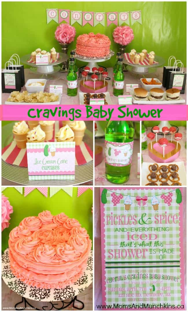 Cravings Baby Shower Ideas Moms Munchkins