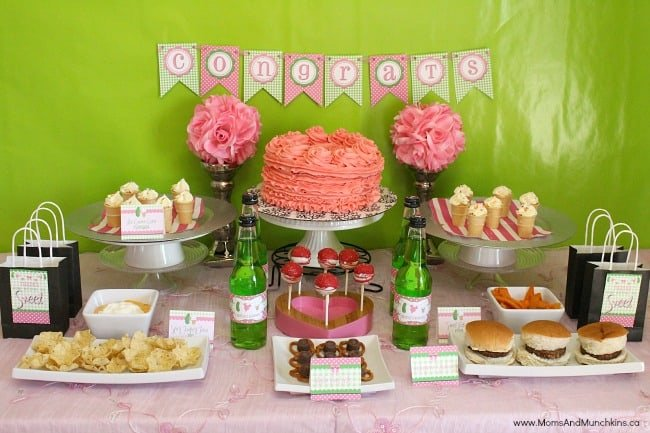 Cravings baby shower ideas moms munchkins - Idee deco baby shower ...