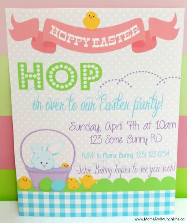 Hoppy Easter Party Ideas Moms Munchkins