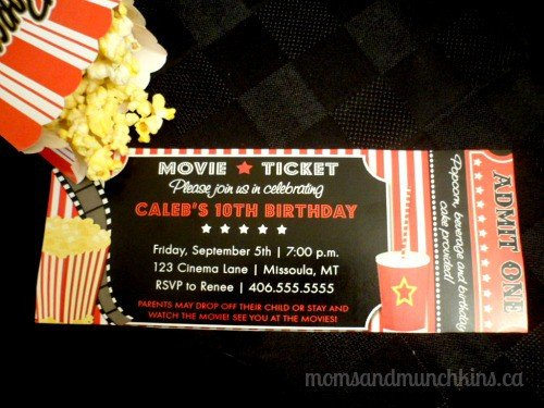Hollywood Theme Invites as awesome invitations layout